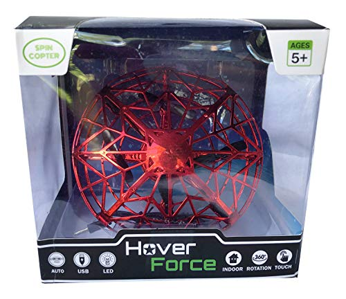 Spin Copter Hover Force Infared/Motion Controlled Flying Hovering Drone - The Next Generation of Spin Copter