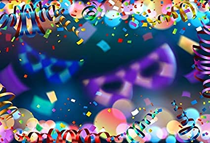 Colorful Fireworks Backdrop 5x3ft Carnival Party Vinyl Photography Background Night Colorful Brilliant Bokehs Festival Celebrate Birthday New Year Prom Studio Photo Prop Decor Wallpaper