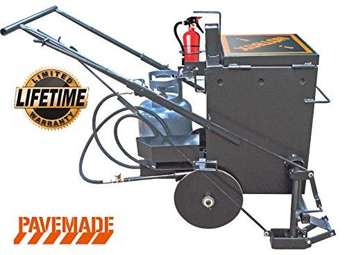 Hotbox 10 Crack Filling Machine Mobile hot Rubberized Asphalt Melter Kettle (Hotbox 10)