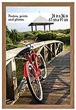 MCS Museum Poster Frame, 24 x 36 Inch, Medium Oak Woodgrain
