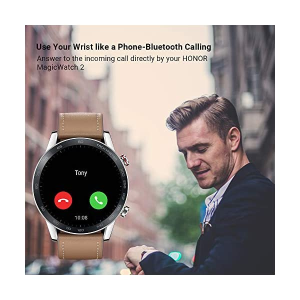 Honor Magic Watch 2 (46mm) - Smartwatch Flax Brown 9