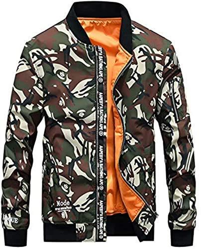 NDCATHE Camouflage Jacket Men 2020 Spring New Military Jacket Baseball Collar Coat Men Veste Homme Fashion Streetwear Mens Jackets