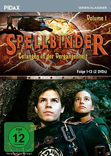 Spellbinder - Gefangen in der Vergangenheit, Vol. 1 / Die ersten 13 Folgen der preisgekrönten Fantasyserie (Pidax Serien-Klassiker) [2 DVDs]