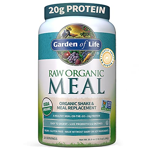 Garden of Life Meal Replacement Lightly Sweet Powder, 28...