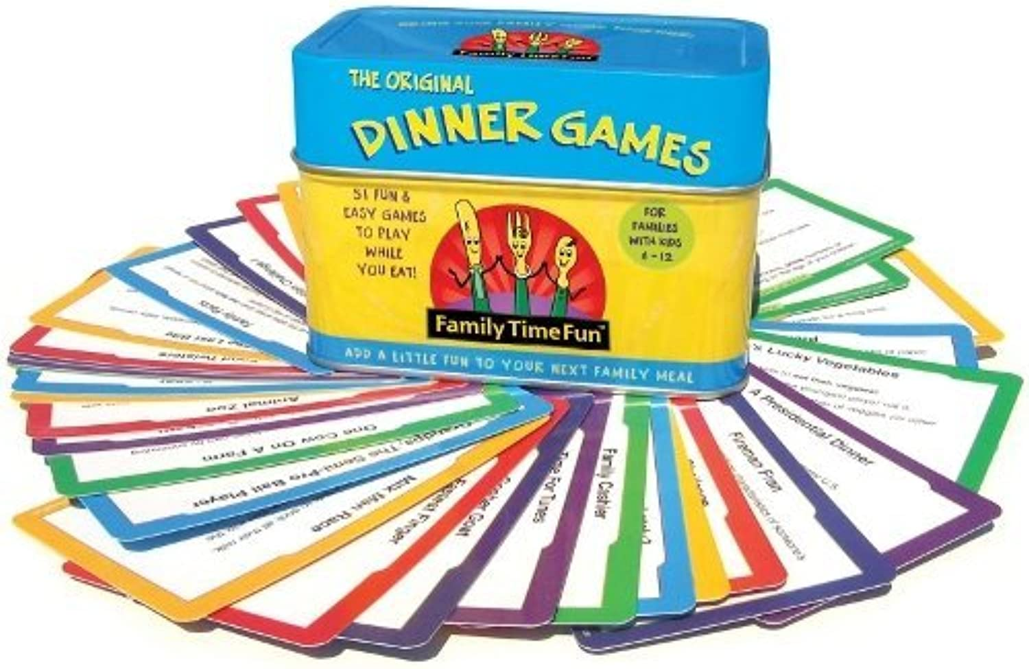 Family Time Fun Dinner Games and Activities by FamilyTime Fun [Toy]
