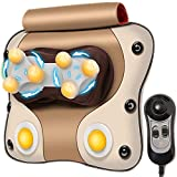 Dr Physio (USA) 3D Cushion Massager With Heat & Speed Controller For Back Cervical & Neck Pain...