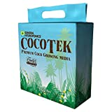 General Hydroponics HGC714064 CocoTek Bale Premium Coco Growing Media, OMRI Listed 5 kg Brown