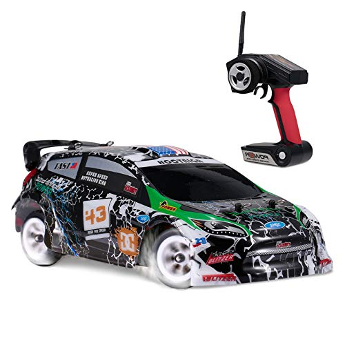 Goolsky WLtoys K989 RC Car 1/28 RC Drift Car 2.4G 30KM / H High Speed RC Car 4WD RC Race Car RC Sport Racing Drift Car Regalo per Bambini