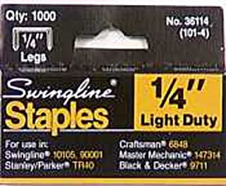 Powerfast Light Duty Staples Galvanized Steel