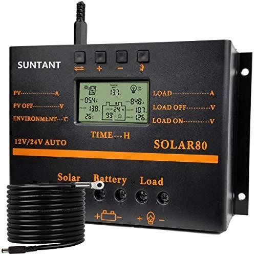 Best solar battery charger controller 12 volt for 2021