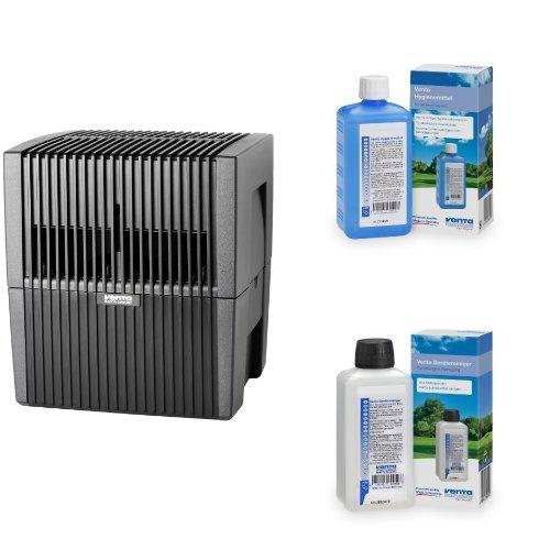 Venta 7025401 Luftwäscher LW 25 anthrazit / metallic + Venta Hygienemittel 6331000 + Venta 6328000 Reiniger