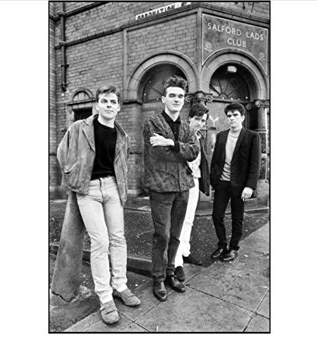 QIUFANGGUO Posters En Prints De Smiths De Koning Is Dode Engels Rock Band Art Poster Canvas Schilderen Home Decor 50 * 70Cm Zonder Frame