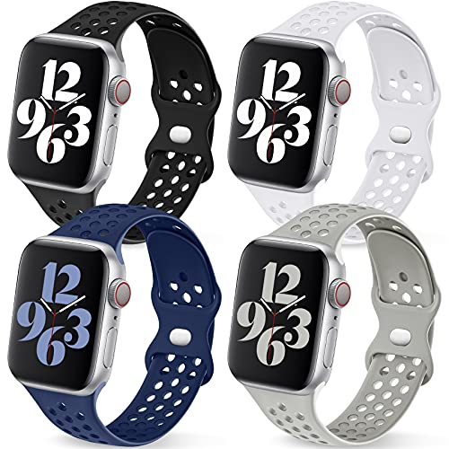 Getino Sport Bands Compatible with Apple Watch Band 40mm 41mm 38mm...