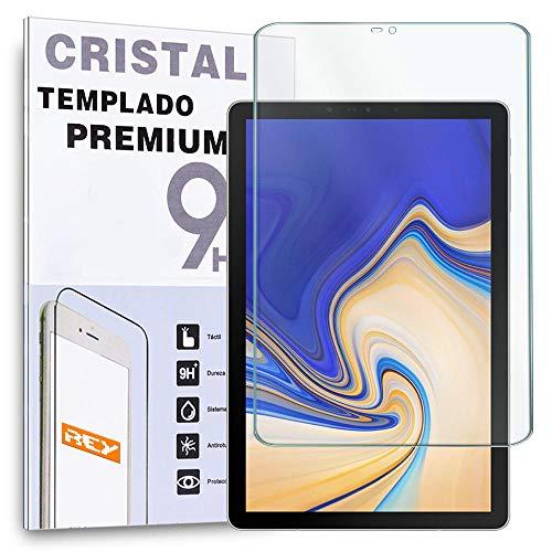 REY - Protector de Pantalla para Samsung Galaxy Tab S4 10.5', Cristal Vidrio Templado Premium Táblet