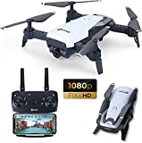 Contixo F16 FPV Drone with Camera 1080P HD RC Quadcopter 6 Axis Gyro, Optical Flow, Follow Me Mode, WiFi, Altitude Hold, Gesture Control, Headless Mode 2.4G drone for kids & adults, Batteries Included
