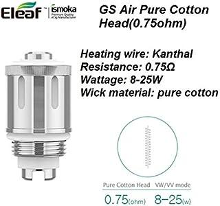 Eleaf 【正規品】GS Air Series Atomizer Head 【iStick Basic,GS Tank,】5個パック (0.75Ω)