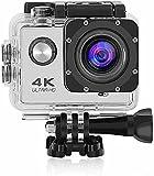 PRO Cam 4K Action Camera Sport WiFi Ultra HD 16Mp Videocamera con Telecomando Fair