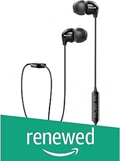 (Renewed) Philips SHB3595BK/10 Wireless Bluetooth Headphones (Black)