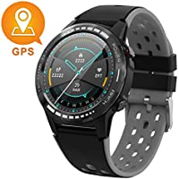 Gandley GPS Smart Watch for Android and iOS-Altimeter/Barometer /Compass,All-Day Heart Rate and Activity Fitness Tracker,Waterproof/Outdoor/Trail/Hiking Running Watch for Men/Women/Kids