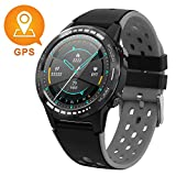 GPS Smart Watch for Android and iOS-Altimeter/Barometer/Compass,All-Day Heart Rate and Activity Fitness Tracker,Waterproof/Outdoor/Trail/Hiking Running Watch for Men/Women/Kids …