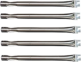 VICOOL hyB304 5-Pack Stainless Steel Burner, Straight Replacement Parts for BBQ Ducane 30400040 S3200 Grillware, Home Depot, Lowes Model Grills