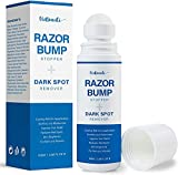 VieBeauti Razor Bump Stopper Skin Care Solution for Men and Women with Dark Spot Remover, Roll on Ingrown Hair and Razor Burns