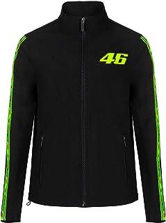 Valentino Rossi Vr46 Classic - Chaqueta para hombre, color negro, talla XXXL