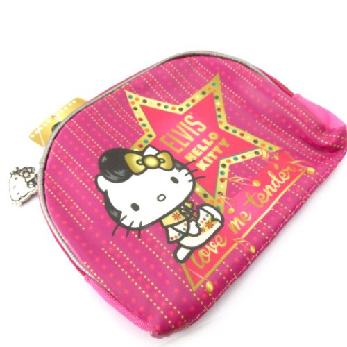 Hello Kitty [J5554] - Trousse à Maquillage 'Hello Kitty' Rose Fuschia
