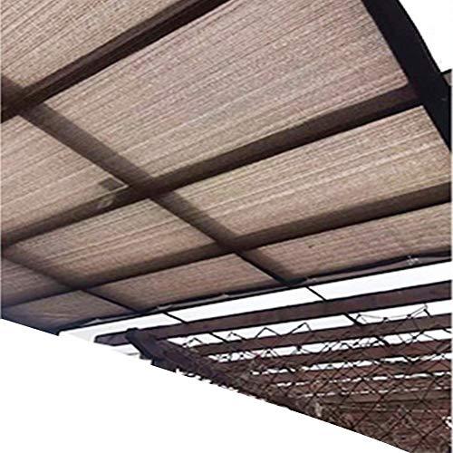 SSRS Pantalla de Tela Transpirable jardín de Sombra contra la luz UV Transmisión Reducir la Temperatura del Agujero del Metal de poliéster, 18 Tamaños portátil, Duradero