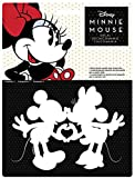 Chroma 40025 Mickey & Minnie Kissing Die Cut Decal