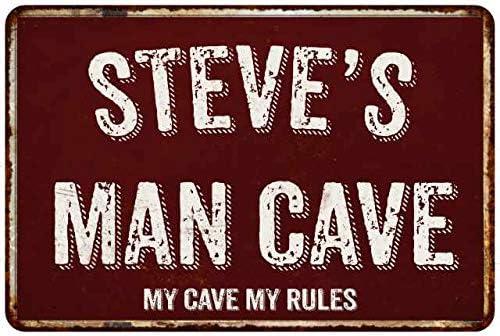 Man Cave Sign Captain Caveman Gift Dad Shed Workshop Mancave Garage Garden 174
