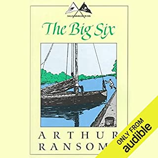 The Big Six audiobook cover art