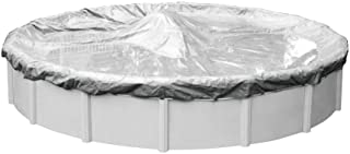 Pool Mate 5518-4 Heavy-Duty Silverado Winter Pool Cover for Round Above Ground Swimming Pools, 18-ft. Round Pool