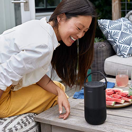 Bose Portable Smart Speaker — Wireless Bluetooth Speaker with Alexa Voice Control Built-In, Black