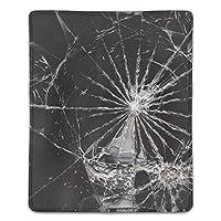 粉々に砕けたガラスBy Nyxknightマウスパッド ゲーミング マウスパッド キーボードパッド パソコンデスクパッド 防水 18*22cm