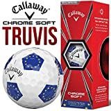 HOTGOLF Pelotas de Golf LTD Edition de Callaway Truvis Ryder Cup (3 Unidades/Europa)
