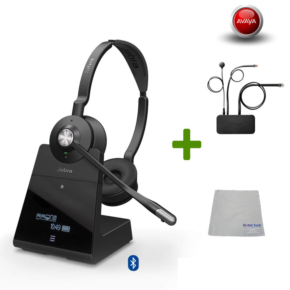 Amazon Com Avaya Compatible Jabra Engage 75 Wireless Headset Bundle With Ehs Adapter For Ip Office Agent Bluetooth Phones Pc Mac Usb Select Avaya Desk Phones Compatible 2410 2420 5410 6416 D M 6424 D Electronics