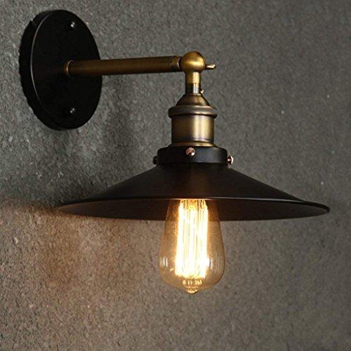 XIN Edison-retro- Amerikaanse landsmeedijzeren wandverlichting minimalistisch slaapkamer-denen-balkon gang verlichte wandspreker