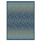 Bassetti Plaid Matera | B1 Blau - 270 x 250