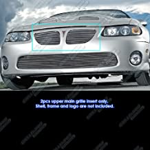 APS Compatible with 2004-2006 Pontiac GTO Main Upper Billet Grille Grill Insert N19-A60858P