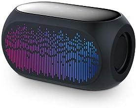 Bluetooth Speaker Wireless Heavy Bass Smart Touch Outdoor Speaker Anti-Braking Design 3.5mm Audio for PC Phone Subwoofer