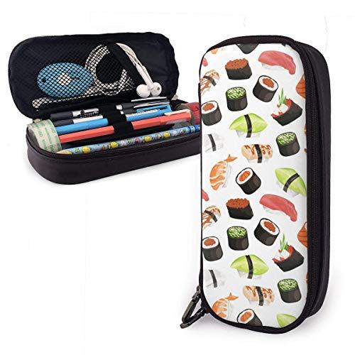 Rollos De Algas Sushi Japonés Lindo,Bolsa De Lápices,Plumier Colegio Pen,Estuche Escolar,Papelería Estuche,Estuche...