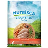 NUTRISCA Potato-Free, Low-Carbohydrate, Dry Cat Food for Adult Cats, Chicken Recipe, 4 lb.