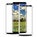 Mriaiz Verre Trempé pour Samsung Galaxy S9, [2 Pièces] 3D Couverture Complète Film Protection...