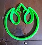 3 D Printed Cookie Cutter Inspired by Star Wars Rebel Symbol
