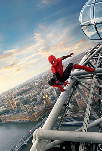 Lionbeen Spider Man Far from Home - Movie Poster - Poster del Film 70 X 45 cm (Not A Dvd)