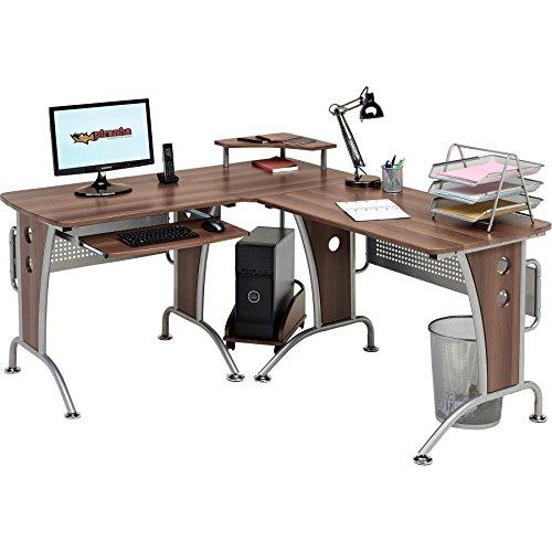 Piranha Großer Computerecktisch für das Home Office PC21w