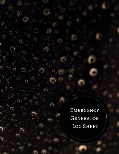 Emergency Generator Log Sheet: Generator Maintenance Log