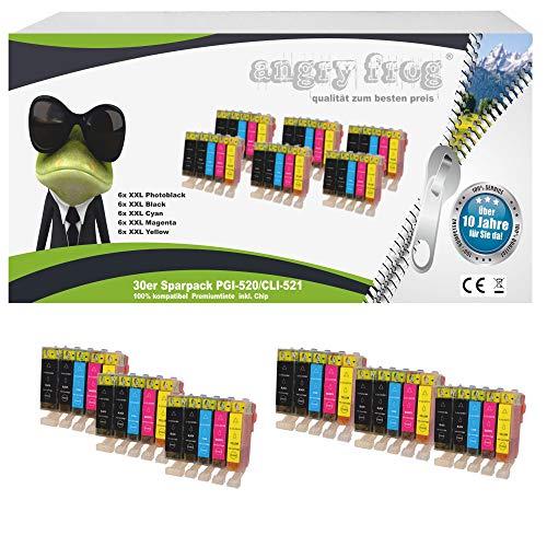 30 Druckerpatronen mit Chip für Canon Pixma IP3600 IP4600 MP540 MP620 MP630 MP980 MP 540 620 630 980 IP 3600 4600