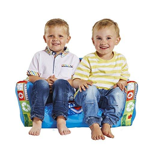 La Pat' Patrouille - Mini canapé convertible - canapé-lit gonflable pour enfants